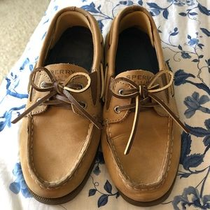 Boy's Classic Sperry Top-Sider Boat Shoes, NWT